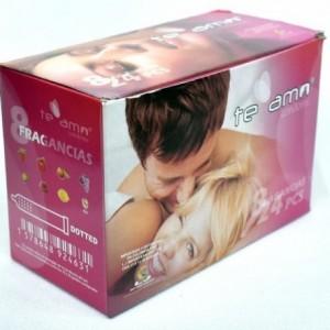 Caja de 72 condones...