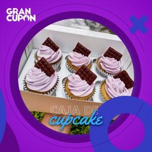 Caja de Cupcakes de regalo