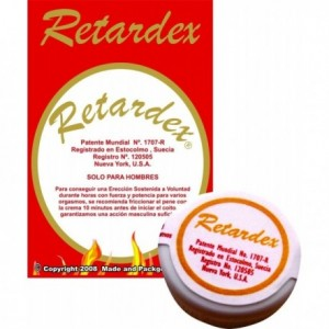 Crema Retardante Retardex