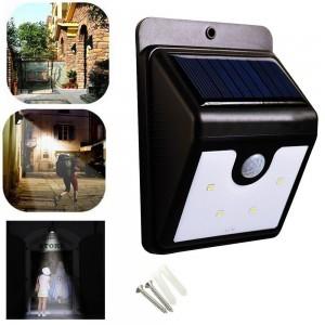 Lampara solar recargable...