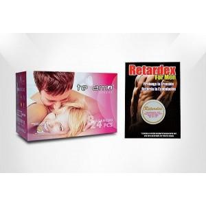 Caja de 72 condones +...