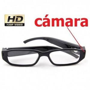 Gafas con cámara espía HD...