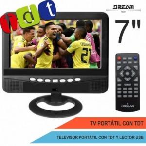 "TV portátil 7"" LCD..."
