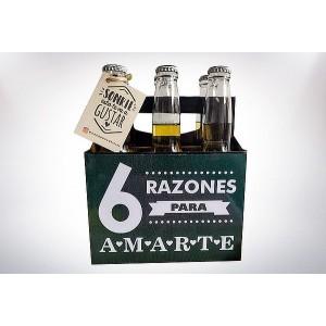 Six pack de cervezas...
